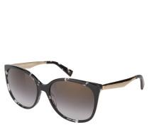 """Sonnenbrille """"MARC 203/S"""", havana-schwarz, goldene Bügel"""