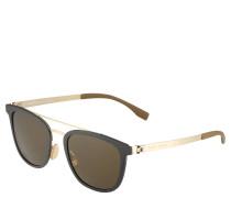 """Sonnenbrille """" 0822/S"""", Doppelsteg, Edelstahl"""