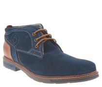 Desert Boots, Veloursleder, zweifarbig, Blau