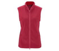 Weste, Fleece, atmungsaktiv, pflegeleicht, für Damen, Pink