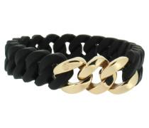 "Armband ""Mini"" 107719 Edelstahl schwarz rosegold"