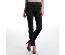 """Jeans """"Twiggy"""", Skinny, elastisch, Schwarz"""