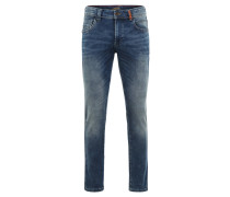 """Jeans """"Houston"""", Straight-Fit, Waschung, Blau"""