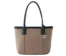 """Shopper """"Ravenna"""", Leder, Logo-Anhänger"""