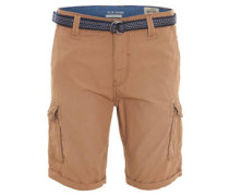 Bermuda-Shorts, Gürtel, Taschen
