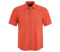 """Hemd """"Lenni"""", Karo, UV-Schutz, für Herren, Orange"""