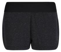 Shorts, Sweat, Elastikbund, für Damen, Schwarz