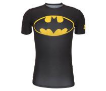 T-Shirt, HeatGear-Technologie, für Herren, Schwarz