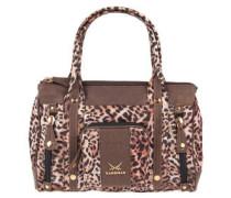 Handtasche, Leopardenmuster, Schultergurt