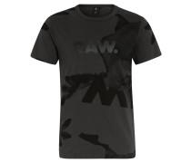 "T-Shirt ""Bonded"", Baumwolle, Print, Grau"
