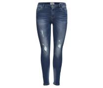 """Jeans, """"Kendell Reg"""", Skinny Fit, Destroyed-Look, Reißverschluss am Bund"""