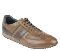 "Sneaker ""Rasmus"", Leder, Stanz-Muster"