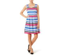 Kleid, ärmellos, Streifenmuster