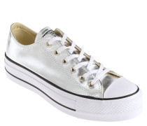 "Sneaker ""CTAS LIFT OX"", Metallic-Effekt, Gummi-Kappe"
