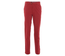 "Chinohose ""Nils"", regular fit, Rot"