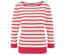 Pullover, Rundhals, Streifen, leicht