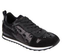Sneaker, Pailetten, Strasssteine, Materialmix