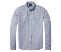Freizeithemd, Regular Fit, Blau