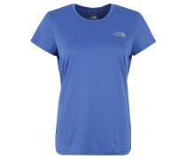 T-Shirt, schnelltrocknend, Rundhals, für Damen, Blau