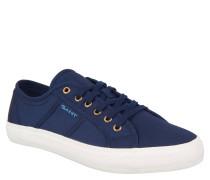 """Sneaker """"Zoe"""", strukturierte Oberfläche, breite Gummisohle, Canvas, Blau"""