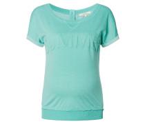 """T-Shirt """"Patty"""", 3D-Aufdruck, Türkis"""
