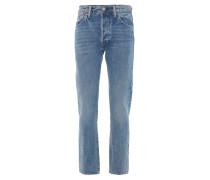 501 Regular Fit Jeans, Stretch, Waschung, Blau