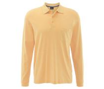 Poloshirt, Pima-Baumwolle, aufgesetzte Brusttasche, Gelb