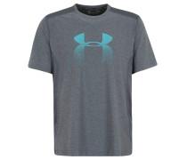 T-Shirt, kühlend, meliert, für Herren, Grau
