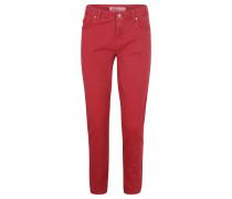 "Jeans, ""Ornella"", Ringköper, Stretch, Rot"