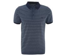 Poloshirt, Baumwolle, Knopfleiste, Streifenmuster