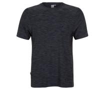 T-Shirt, atmungsaktiv, Streifen-Muster, Training, Herren, Grau