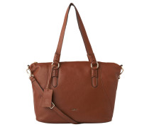 "Shopper ""Elly"", Leder, Logo-Element"