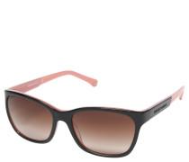 "Sonnenbrille ""EA 4004"", Trapezform, Bicolor-Design, Verlaufsgläser"