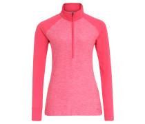 Sweatshirt, schnelltrocknend, Raglanärmel, für Damen, Pink