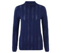 Pullover, Baumwolle, Blau