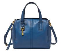 """Handtaschen """"Emma Sachtel"""", Leder, Blau"""