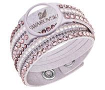 Activity Tracking Jewelry, Armband, Slake, pink-weiß, Crystal Light Multi, 5225827