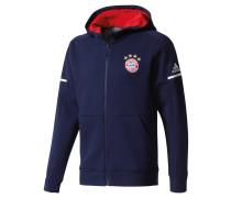 FC Bayern München Sweatjacke, Kapuze, Blau