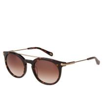 """Sonnenbrille """"FOS 2029/S"""", Havanna-Stil, Verlaufsgläser"""