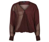 Bluse, verschiedene Muster, elastischer Saum
