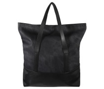 "Shopper ""Tara"", Stonewash-Look, Schwarz"