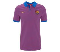 Poloshirt, FC Barcelona, gestreift, für Herren, Mehrfarbig