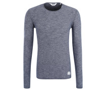 "Pullover ""Larry"", Feinstrick, Inside-Out-Look, Blau"