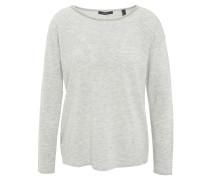 Pullover, Wolle-Mix, Nieten-Dekor, Grau