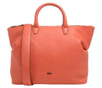 "Handtasche ""Icon Bag"", Rindsleder, Schultergurt, Orange"