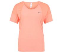T-Shirt, schnelltrocknend, Mesh, für Damen, Orange