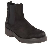 """Chelsea-Boots """"28140 Silk Oil"""", Strass, Schwarz"""