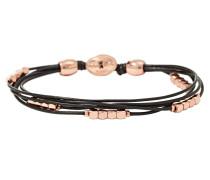 Armband Nugget Leder schwarz JA6260791