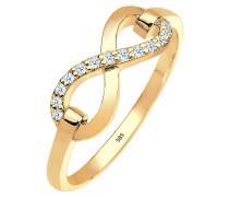 Ring Infinity Symbol Diamant (zus. 0.13 Ct.) 585