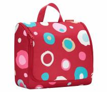 """Kosmetiktasche """"Toiletbag XL"""", Funky Dots Rot, 4 l, Rot"""